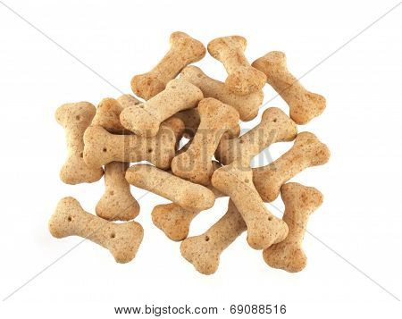 Dog Biscuits In The Shape Of Bones.