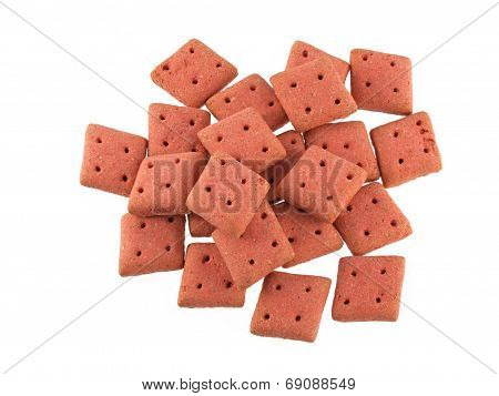 Square  Dog Biscuits