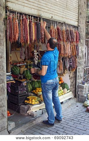 Convenience Store, Tbilisi, Georgia, Europe
