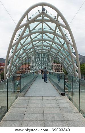 Bridge Of Peace, Tbilisi, Georgia