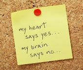 picture of saying  - The phrase my heart says yes - JPG
