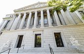 stock photo of capitol building  - Sacramento Library and Courts building - JPG