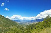 picture of apennines  - Valle Peligna  - JPG