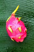 picture of flesh  - Dragon fruit  - JPG