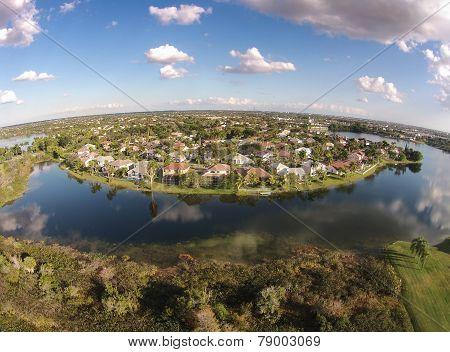 Waterfront Residential Neighborhood