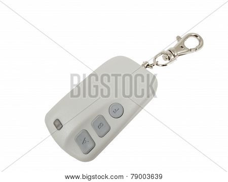 Car Trinket Isolated On White