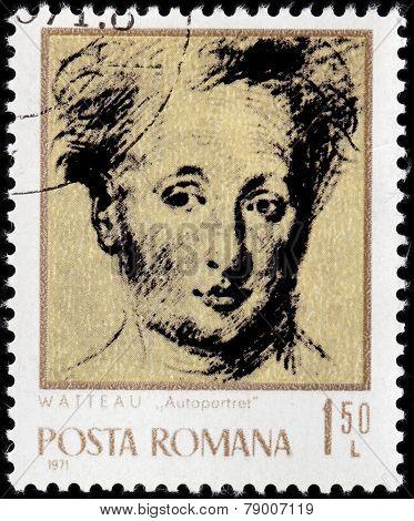 Watteau Stamp