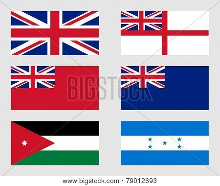 Set Of Flags 03.