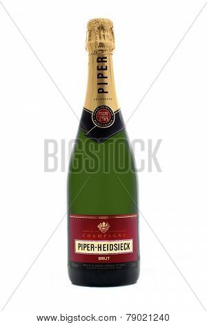 :Bottle Of Piper-Heidsieck Champagne