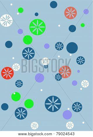 Snowflake scene