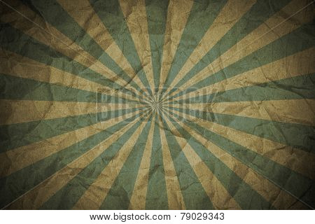 Sunbeam on grunge background