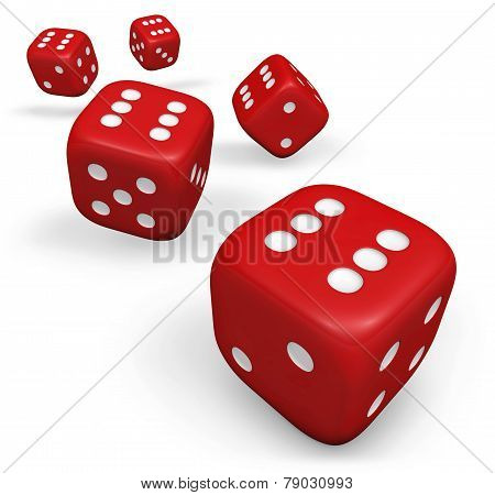 Dice Red