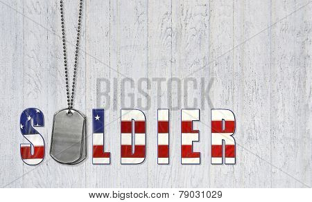 military dog tags for soldier