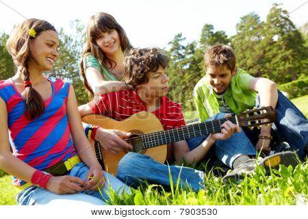 musikalische Unterhaltung