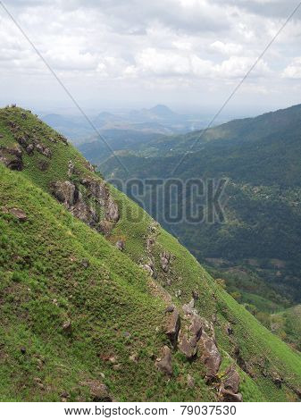 Mountain Scenery In Sri Lanka