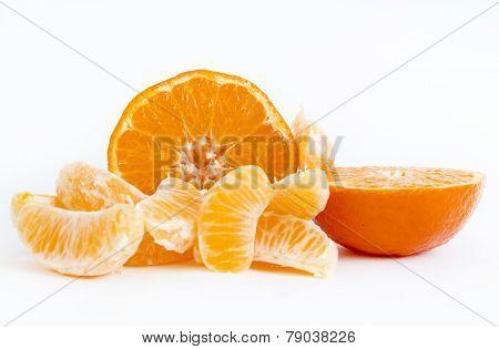 Tangerine Sliced