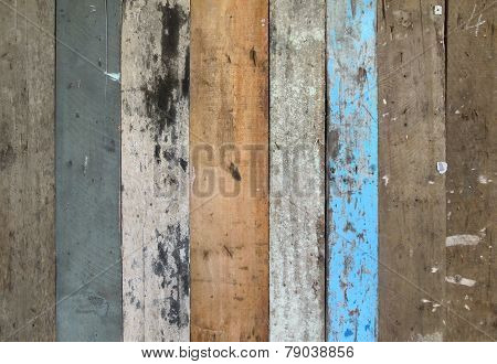 Various Wooden Planks