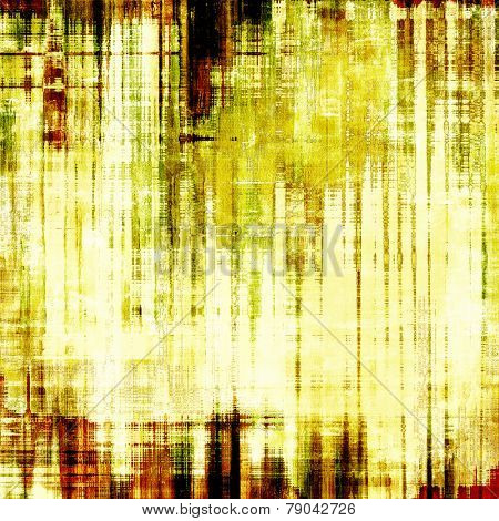 Grunge background or texture for your design. With different color patterns: yellow (beige); brown; green yellow (beige); brown; green