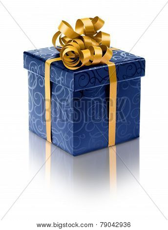 Stylish Blue Present Box