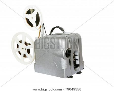 Old Film Projector For Movies