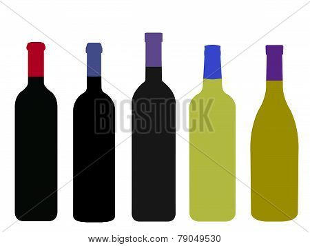 Wines Of The World Without Labels