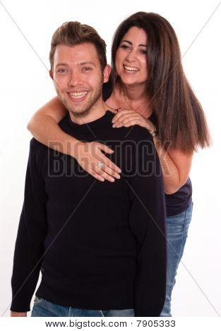 Young Fun Couple