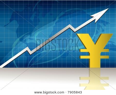 Yen Exchange / Vector