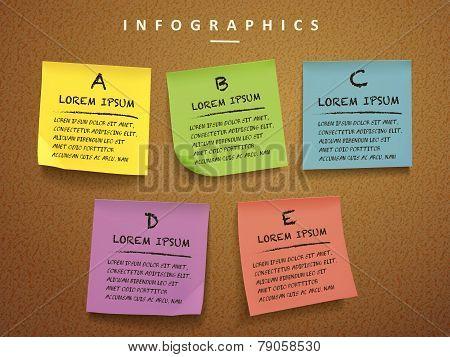Education Concept Infographic Template Design
