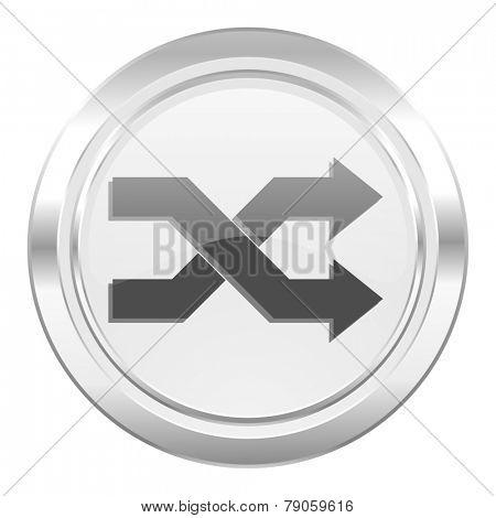 aleatory metallic icon
