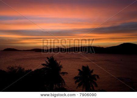 Spectacular Tropical Sunset