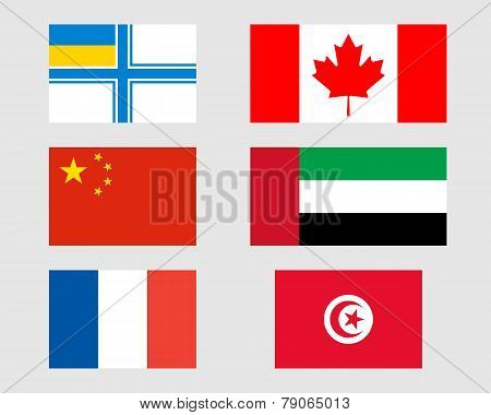 Set Of Flags 10.
