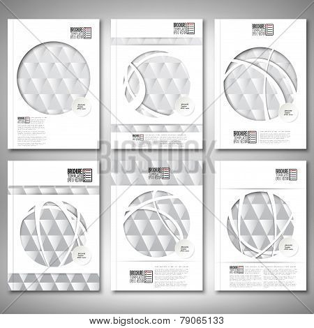 Steel abstract texture, vintage background. Brochure, flyer or report for business, template vector
