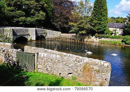 Sheepwash bridge, Ashford-in-the-Water.