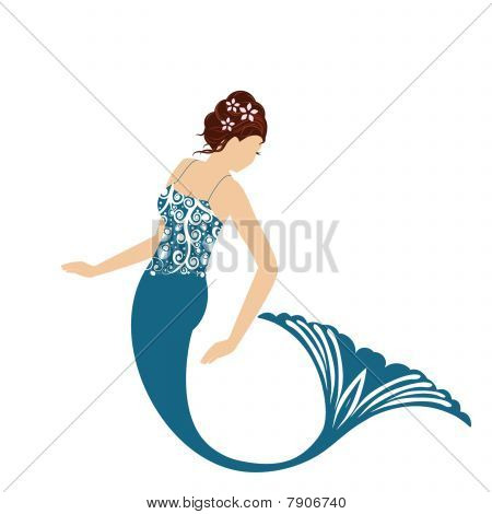 Mermaid Isolated