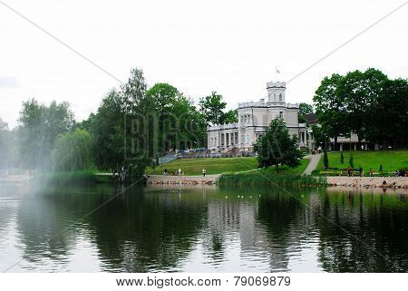 Druskininkai Is A Spa Town On The Neman River In Southern Lithuania
