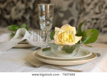 Tableware In Beige