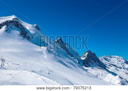 Mountain La Grande-Motte.