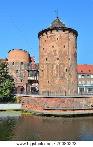 Old Tower In Gdansk