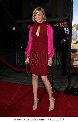 LOS ANGELES - FEB 16:  MALIN AKERMAN arrives to the