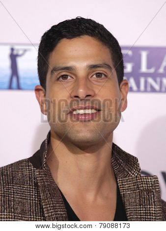 LOS ANGELES - FEB 06:  ADAM RODRIGUEZ arrives to the 'The Vow' World Premiere  on February 06, 2012 in Hollywood, CA