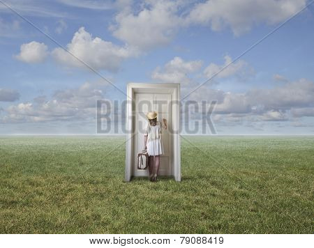 The door in the field