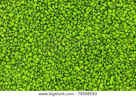 Small luminous green stone texture, can be used as background