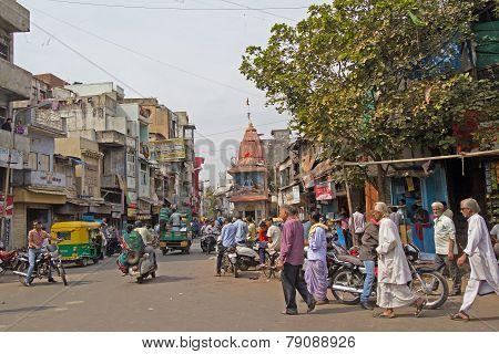 Street Scene In Ahmedabad