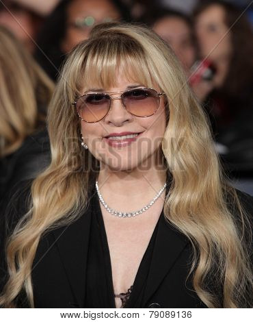LOS ANGELES - NOV 11:  Stevie Nicks arrives to the