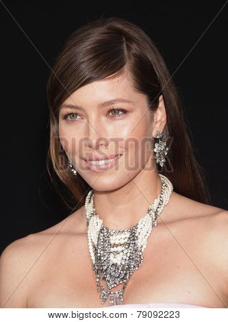 LOS ANGELES - AUG 01:  Jessica Biel arrives to