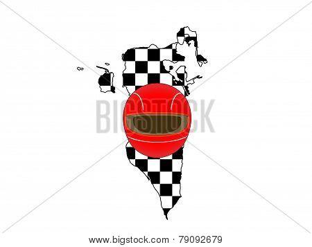 Racing Map Bahrain