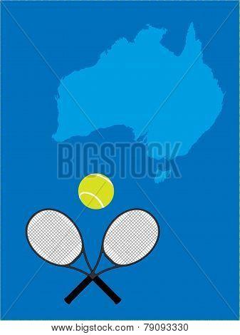Tennis Map Australia