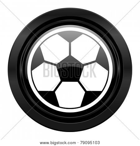 soccer black icon football sign