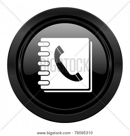 phonebook black icon