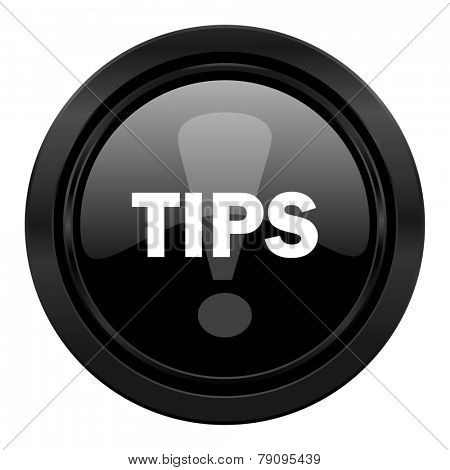 tips black icon